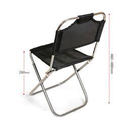 $enCountryForm.capitalKeyWord Australia - Mountaineering outdoor folding chair aviation aluminum backrest chair fishing chair train bench mini portable Portable seat