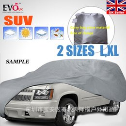 $enCountryForm.capitalKeyWord Australia - Universal Full Car Covers Snow Ice Dust Sun UV Shade Cover Light Silver Size L-XL Auto Car Case Outdoor Protector Cover DFDF