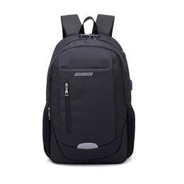 Waterproof computer backpacks for men online shopping - Laptop Backpack Business Anti Theft School Teenagers Bag Travel Bag For Women Men Computer Backpack With USB Slot Waterproof
