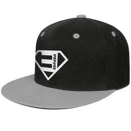 Orange Blue Vintage Hat Australia - Eminem logo super Design Hip-Hop Cap Snapback Flat Brim Trucker Hat Vintage Adjustable