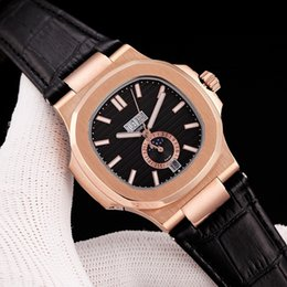 High End Sports Watches Australia - Top brand 5726 1a-010 series high-end mens mechanical watches sports series, men's brand 42mm automatic watches sun moon and stars Free ship