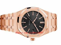 $enCountryForm.capitalKeyWord UK - 3 style Mens 15400OR Pink Gold   Black Silver Boutique Edition Hours Minutes Seconds Date Date Movement Mens N8 Watch