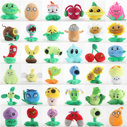 Plant vs zombies figures online shopping - Plants vs Zombies Plush Toys cm Plants vs Zombies PVZ Plants Soft Plush Stuffed Toys Doll Game Figure Toy for Kids