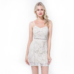 08f437b3300 Summer Europe and the new tube top dress lace openwork lace slim bag hip  dress free shipping