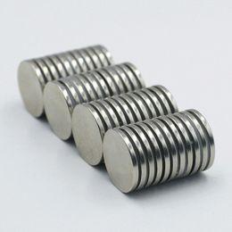 Magnet Neodymium 12 Australia - Super Strong Round Disc Cylinder 12 x 1.5mm N35 NdFeB Magnets Rare Earth Neodymium