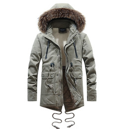 64b2063c37ba4 2018 New Fashion Parkas For Men Style Mens Winter Coat Long Style And Down  Cotton Clothes Authentic Quality Outdoors Winter Jacket
