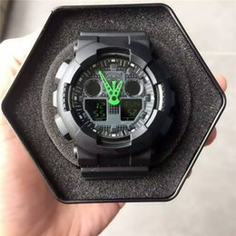$enCountryForm.capitalKeyWord NZ - Shock Watches Men's Wholesale Free Shipping Waterproof Led Hot Selling New Militray Male Wrist Watches Sport Quarzt Watch Good Gift No Box
