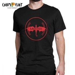 7023fd503 Crazy Tees Australia - Mother Of Dragons T Shirts Men Cotton Crazy T-Shirt  Crewneck