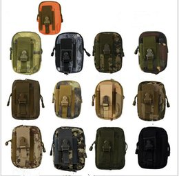 $enCountryForm.capitalKeyWord NZ - EDC Military Molle Pouch Waist Bag Men Camo Waterproof Nylon Mulfition Fanny Pack Mobile Phone Case Tactical Hiking Camping Tool Hoder 2019