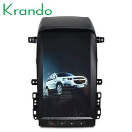 "Chevrolet Cars Australia - Krando Android 6.0 13.6"" Tesla Vertical screen car dvd navigation player for Chevrolet Captiva 2005-2012 multimedia system BT"