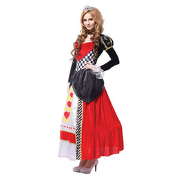 $enCountryForm.capitalKeyWord UK - olidays Costumes plus size alice in wonderland queen of hearts costumes for women costume Sexy Royal Cosplay Clothing Women Halloween Fan...