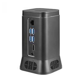 $enCountryForm.capitalKeyWord UK - V6B Fanless Mini Computer Mini PC 2MP HD Camera Quad Core 4+64G Windows 10 HDMI 4K WiFi Bluetooth Computer Host Device