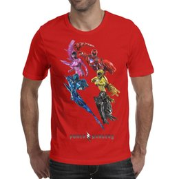 $enCountryForm.capitalKeyWord Australia - Men design printing Power Rangers Adult red t shirt printing personalised graphic designer champion shirts awesome t shirt cute novelty