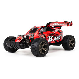 Electric Road Cars UK - New RC Car 2810B 2.4G 20KM H High Speed Racing Car Climbing Remote Control RC Electric Off Road Truck 1:20 red