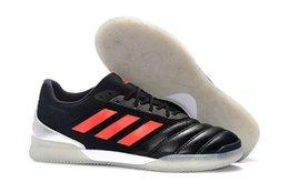 Venta al por mayor de Zapatillas de fútbol para hombre 2019 Copa 19.1 EN TF Tacos de fútbol para interiores botas de fútbol baratas de futbol