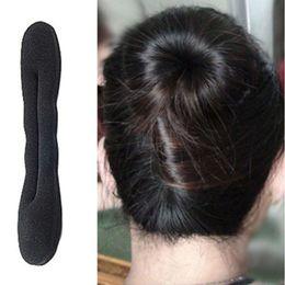 $enCountryForm.capitalKeyWord Australia - NEW Women Hair Accessories Lovely Pearl Bow Bowknot Hair Band Clip Elastic Accessories G0313