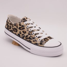 $enCountryForm.capitalKeyWord Australia - 2019 new low-top canvas shoes for men's dormitory personality leopard-print tidal shoes Korean version of the trend of students'leisure snea