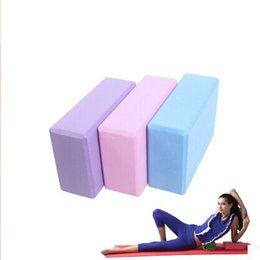 $enCountryForm.capitalKeyWord Australia - Free shipping New Arrival High Quality 3 Colors Available EVA Yoga Block Foam Home Exercise Practice Home Fitness Assistance
