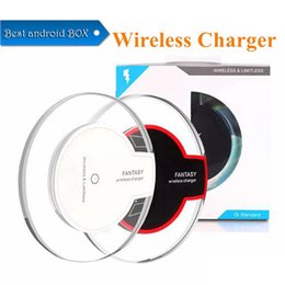 $enCountryForm.capitalKeyWord Australia - JMPOZ Best seller Qi Wireless Charger Pad with USB Cable Dock Charging Charger For Samsung S6 S7 S9 S10 iP 8 X