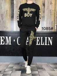 brand mens polo NZ - je22 Fashion Stylish Brand Designer Tracksuit Men women polo Sweat Suits Jogger Suits Jacket Pants Brand Mens Tracksuits Mens Outercoat 0902