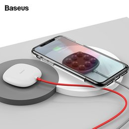 pads suction cups NZ - Baseus Spider Suction Cup Charger Iphone Xs Max Xr X S Portable Fast Wireless Charging Pad For Samsung Note 9 8 S9+ J190427