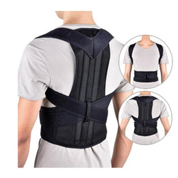 Back lumBar support Belt Brace online shopping - Back Posture Correction Shoulder Corrector Support Brace Belt Therapy Shoulder Lumbar Spine Brace Support Belt Adjustable Back Trainer