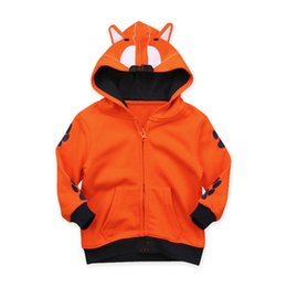 77e4cd039acf Spring Boys Jackets Long sleeve Children Hooded animal picture Kids Coats  fashion baby boy clothes Autumn Outerwear Clothing