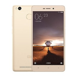 Gps Unlock NZ - Octa core 4G network Ram 2GB Rom 16GB unlocked original xiaomi Redmi 3S smart phone inch 5 cell phone Android with WIFI GPS