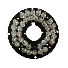 Chinese  2PCS Lot Infrared 36 IR LED Light Board for CCTV Security Cameras Night vision (diameter 57mm) manufacturers