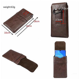 $enCountryForm.capitalKeyWord Australia - Universal Hip Holster Leather Flip Cover For Iphone XS MAX XR X 8 7 6 5 Galaxy S10 S8 Note 10 Vertical Hasp Hook Case Clip Belt Pouch Purse