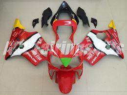 F4i giFt online shopping - 3 Free gifts New ABS motorcycle bike Fairings Kits Fit For HONDA CBR600F F4i bodywork set custom Fairing red