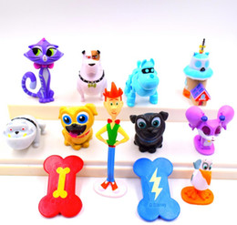 Figures Australia - 12pcs set Puppy Dog Pals Canina Anime Classic Toy Action Figures Toys Gifts for Children