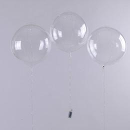 $enCountryForm.capitalKeyWord NZ - Led Balloon 1PCS LED Light Up Bobo Balloons Latex Transparent Round Bubble Colorful Flash String Decoration Wedding Kids Birthday Party