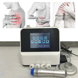 physical therapy massager UK - Hot sale Onda da choque Portable Physiotherapy Physical therapy Body massager Extracorporeal Shock wave Machine RSWT therapy machine