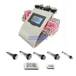 $enCountryForm.capitalKeyWord NZ - New Promotion 6 In 1 Ultrasonic Cavitation Vacuum Radio Frequency Lipo Laser Slimming Machine for Spa Good Result