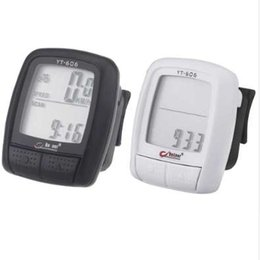 New YT606 LCD Multifunction Bike Bicycle Cycling Computer Odometer Speedometer from cheap screens suppliers