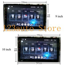 dsp radios 2019 - 10 9'' 2.5D IPS Android 8.1 Car DVD GPS Player NAVIGATION AUTO universal single din build in DSP 32EQ video ou