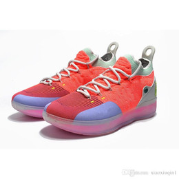 $enCountryForm.capitalKeyWord Canada - What the KD 11 mens basketball shoes for sale MVP Floral black CityEdition Aunt Pearl Kevin Durant Xi low kids boots with box