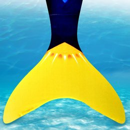 $enCountryForm.capitalKeyWord NZ - 1Pcs Swimming Fin Monofin Mermaid Flippers Diving Scuba Swim Fins Foot Flippers Kids Monofin Underwater Sports Training Shoes