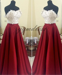 Red Dress Draped Back Australia - 2019 Dark Red Prom Dresses Lace Applique Formal Long A Line Dresses Sweetheart Neck Zipper Back Party Gowns