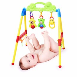 $enCountryForm.capitalKeyWord Australia - 0 15 months Baby Activity Gym Toys bed bell Learning and education wisdom Baby Rattles Mobiles High quality ABS materials 0-15 months