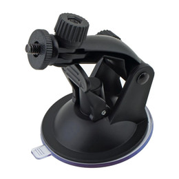 Tripod For Cars Australia - Professional Car Windshield Suction Cup Mount Holder Driving Recorder Bracket with Tripod Adapter for Gopro Hero 3 2 1 Camera
