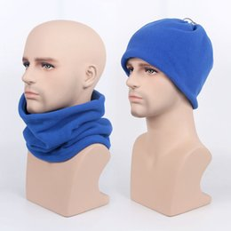 Head Face Mask Australia - Winter Warm Cycling Face Mask Fleece Bib Bicycle Bike Riding Cap Outdoor Sports Neck Warmer Head Scarf Ski Mask Windproof