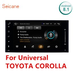 toyota land cruiser gps Australia - Seicane 7 inch HD Android 8.1 Car Multimedia Player GPS Navigation for Universal TOYOTA COROLLA Camry Land Cruiser HILUX PRADO