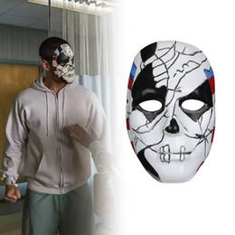O Punisher 2 Billy Russo Máscara Cosplay Traje De Plástico Adereços Máscara de Masquerad Halloween Unisex Adulto Cosplay Adereços venda por atacado