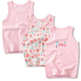 $enCountryForm.capitalKeyWord Australia - Baby Girls Vest Undershirts Kids Cotton Underwear Summer Children Beach Clothing Girls Sleeveless Tank 4086 01