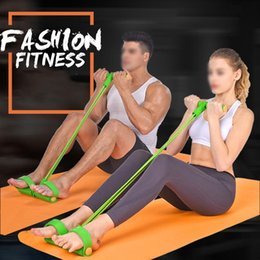 Resistance Bands Sports & Entertainment Cheap Sale Pedal Resistance Bands Sit-ups Abdominal Train Device Male Female Fitness Equipment Practical Training Rubber Tensile Expander Various Styles