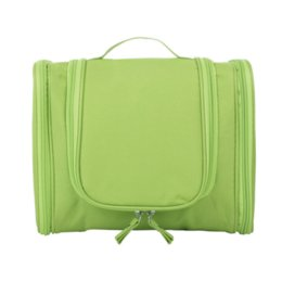 Organizer Cosmetic Bags Australia - Travel Organizer Bag Unisex Zipper Cosmetic Bag Hanging Travel Makeup Bags Washing Toiletry Bags Organizer Accessories
