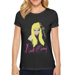 Graphic Tee Ladies Australia - Ladies' style t Shirt Tee Graphic Casual Ultra Cute Nicki Minaj