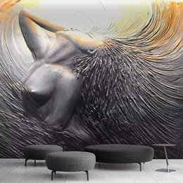 $enCountryForm.capitalKeyWord Australia - Custom Photo Wallpaper European Style 3D Stereo Figure Mural Living Room Bedroom Creative Art Background Wall Painting 3D Decor